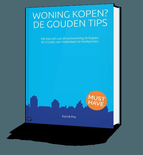 Afbeelding van het boek Woning Kopen? De Gouden Tips door Korné Pot
