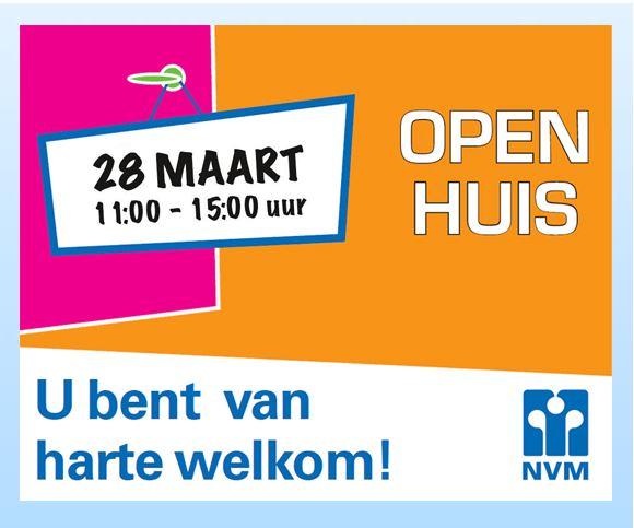 Poster van NVM Open Huizen Dag