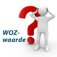 Plaatje van een vraagteken met 'WOZ-waarde'
